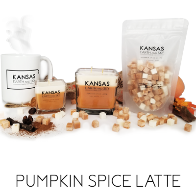pumpkin spice latte soy candles and wax melts fragrance