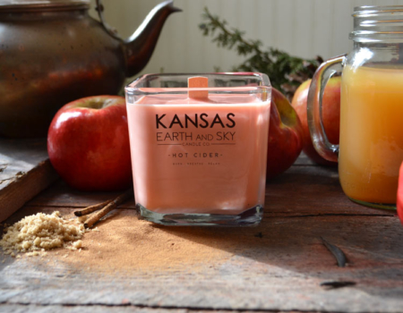 Aromatherapy Scented Soy Wax Candles Hot Cider