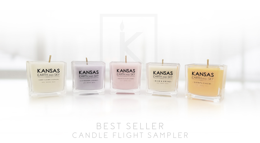 BEST SELLING SOY CANDLE FLIGHT