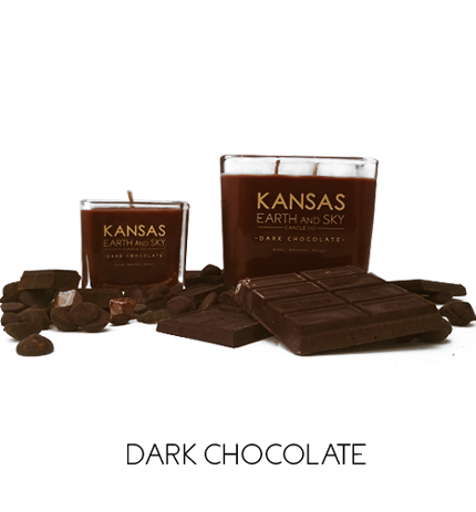 dark chocolate soy candles