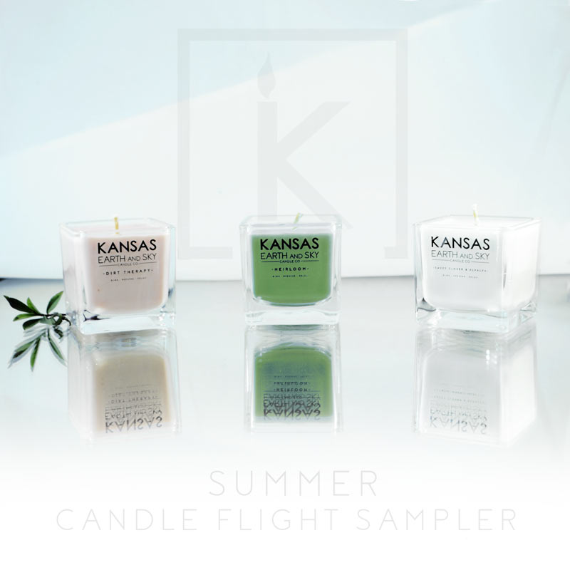 spring candle flight sampler