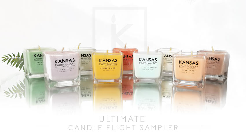Ultimate Soy CAndle Flight Sampler