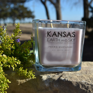 prairie wildflower 12 oz soy candle