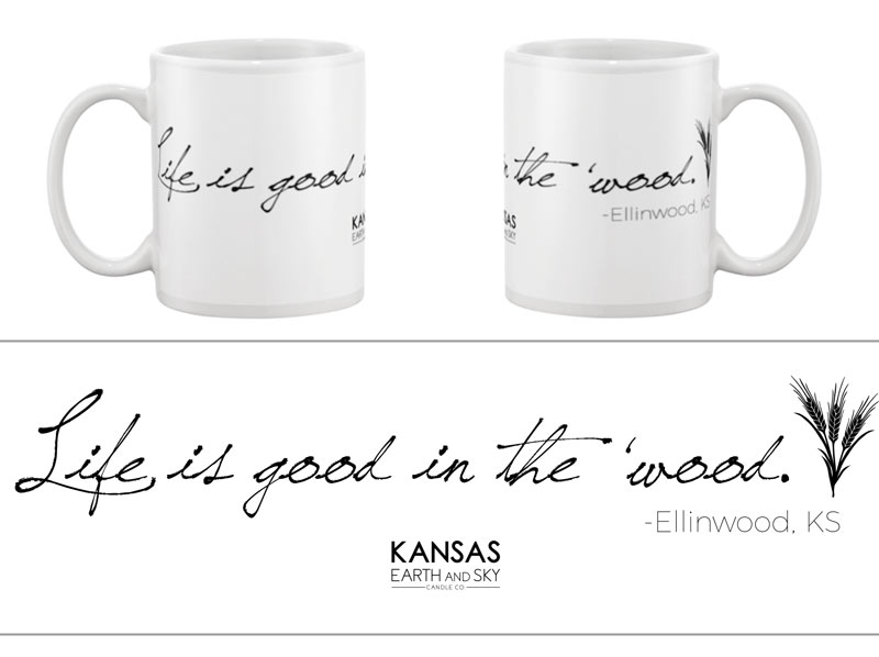 ellinwood kansas mug all good in the wood