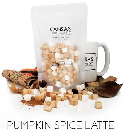 pumpkin spice latte soy wax melts