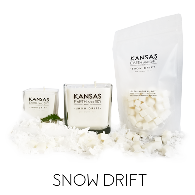 Snow Drift Scented Soy Candles wax melts