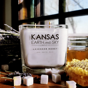 Lavender Honey Soy Candle Large 12oz