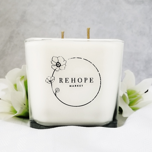 12 OZ REHOPE SOY CANDLES