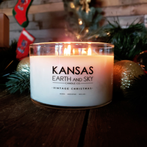 Vintage Christmas 24oz 3 wick Soy CAndle