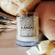 fresh baked bread 8oz soy candle