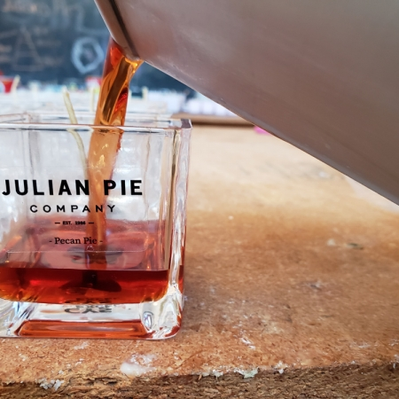 Julian Pie Company private label soy candles