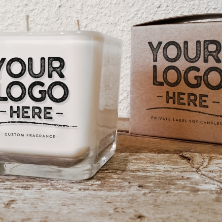 Your logo here, Private Label Soy Candles