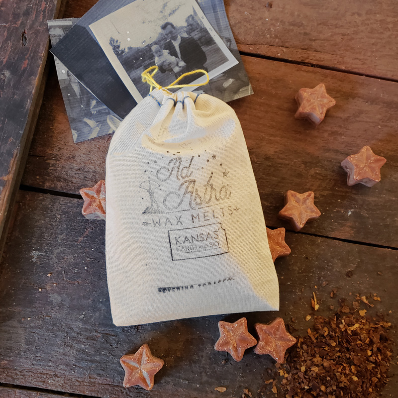 evening tobacco soy wax melts