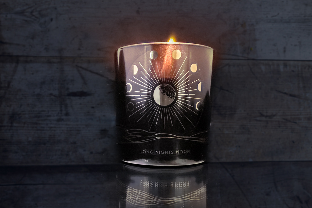long nights moon soy candle