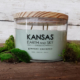 greener pastures 24oz soy candle