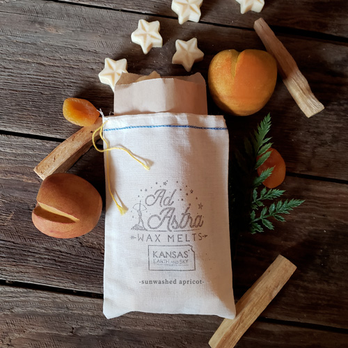 sunwashed apricot ad astra soy wax melts
