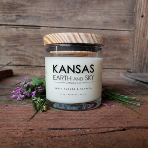 Sweet Clover and Alfalfa 5oz Soy Candle