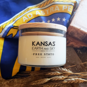 Kansas Free State Soy Candle - 3 wick 24oz