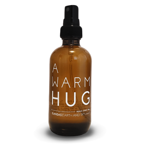 a warm hug room spray