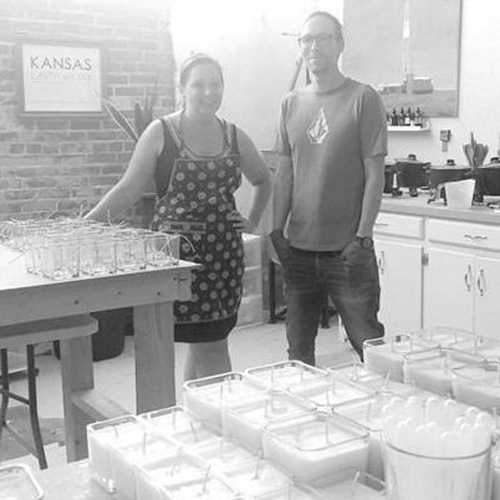 Kansas candle company owners