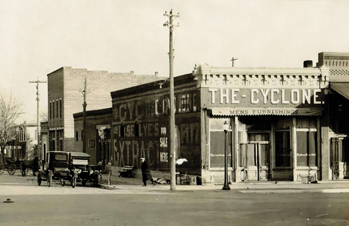 The Cyclone Building, Ellinwood Kansas