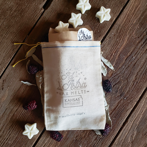 mulberry sage ad astra wax melts