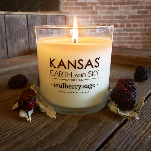 mulberry sage candle